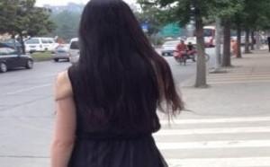 rosi小莉无内衣:走在大街上去打望!