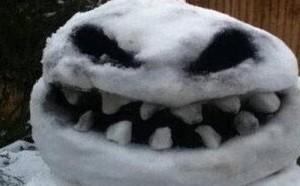 内涵吧:这是谁堆的雪人,你出来我不打你