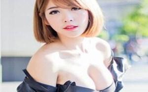 DISI私房照:巨乳短发女神妖娆身姿性感可人嫩模被摸图片