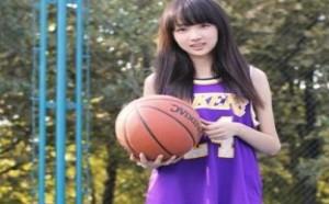美女翘臀:清纯的篮球女孩!