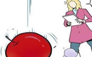邪恶漫画之老师姐姐:苹果是怎么掉下来的